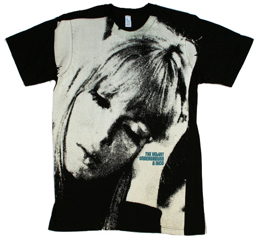 The Velvet Underground & Nico Big Print Subway Tee (Black)