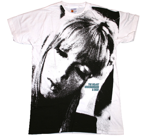 The Velvet Underground & Nico Big Print Subway Tee (White)