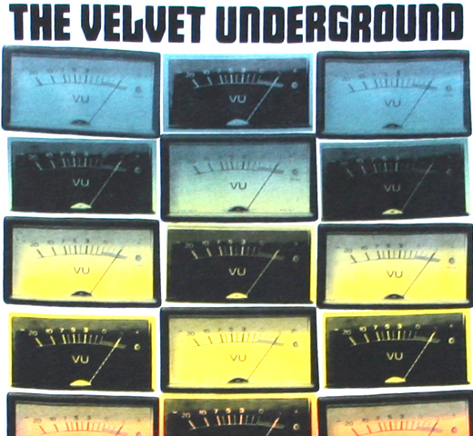 The Velvet Underground / VU Meters Tee (White)