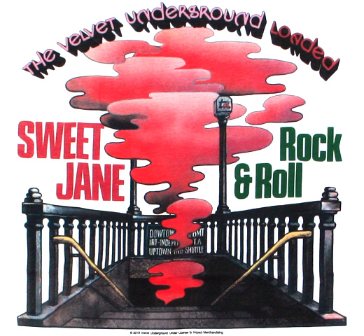 The Velvet Underground / Sweet Jane Tee (White)