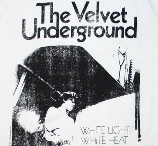 The Velvet Underground / White Light / White Heat Tee (Vintage White)