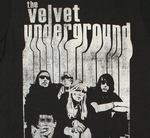 The Velvet Underground / Band with Nico Tee (Charcoal)