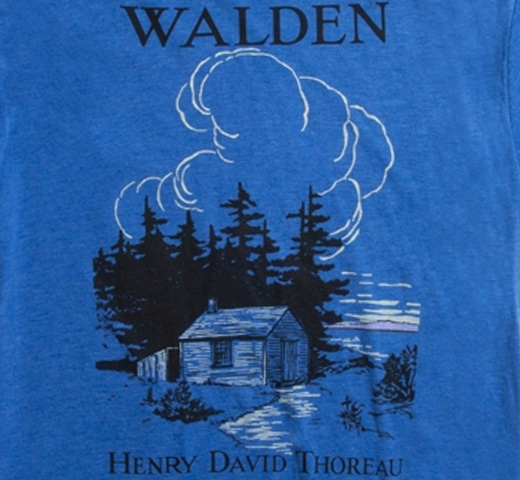 [Out of Print] Henry David Thoreau / Walden Tee (Blue)