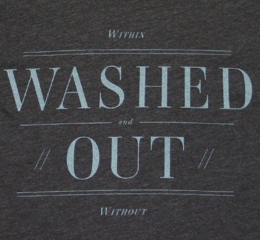 Washed Out / Within and Without Tee (Heather Black)