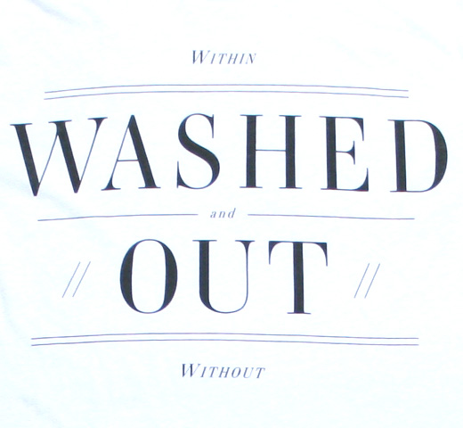 Washed Out / Within and Without Tee (White)