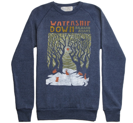 【Out of Print】 Richard Adams / Watership Down Fleece (Navy)