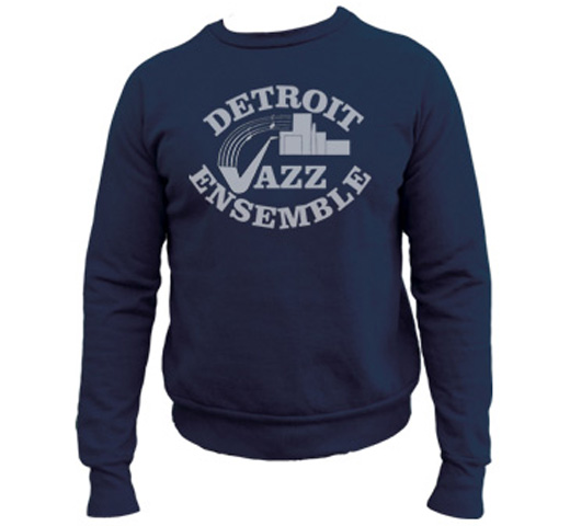【Worn Free】 Wayne Kramer / Detroit Jazz Sweatshirt (Dark Navy)