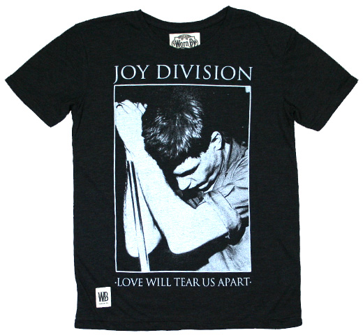 【Worn By】 Joy Division / Poster Tee (Charcoal)