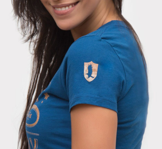 【Out of Print】 Hermione Granger / When in doubt, go to the library Tee (Ravenclaw Blue) (Womens)