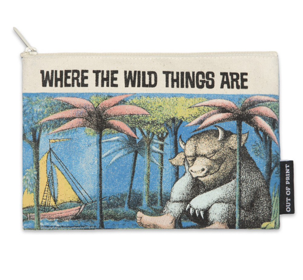 [Out of Print] Maurice Sendak / WHERE THE WILD THINGS ARE Pouch