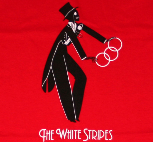 The White Stripes / Magician Tee (Red)