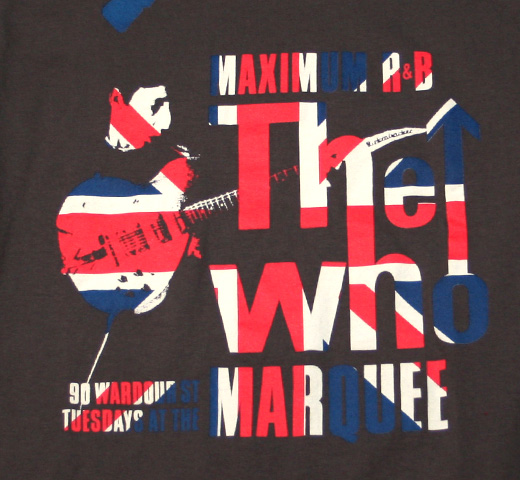 The Who / Tuesday At The Marquee Tee ( Union Jack)