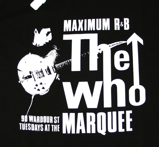 The Who / Tuesday At The Marquee Tee (Black)