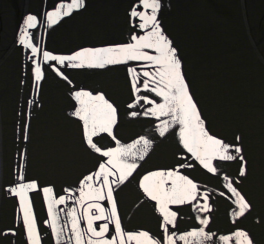 【Amplified】 The Who / Pete Townsend Tee (Charcoal) (Womens)