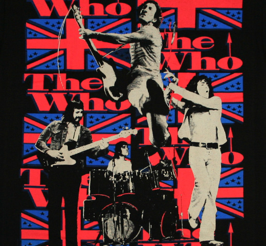 The Who / Sensation Tee (Black)