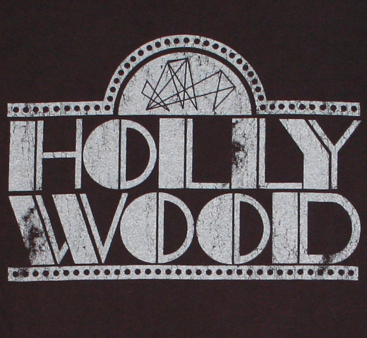 【Worn Free】 Willie Hall / Hollywood Tee (Black)