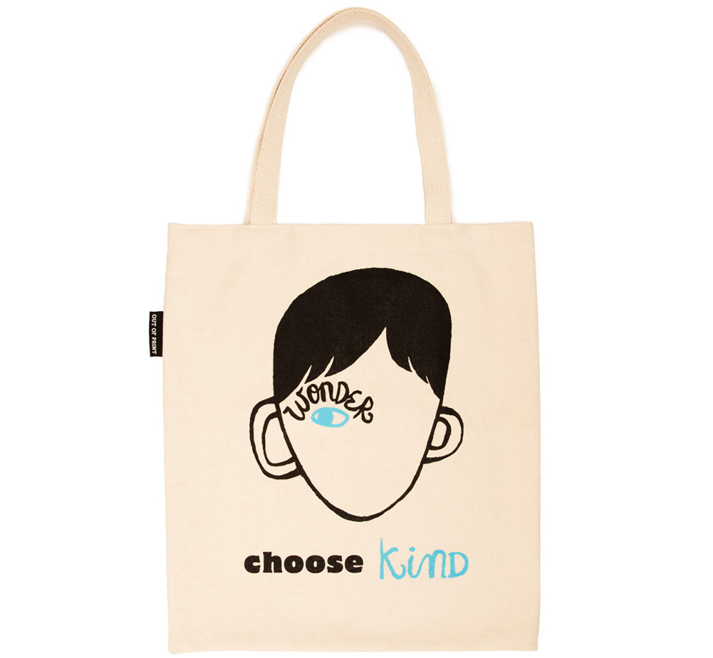 [Out of Print] R. J. Palacio / Wonder Tote Bag