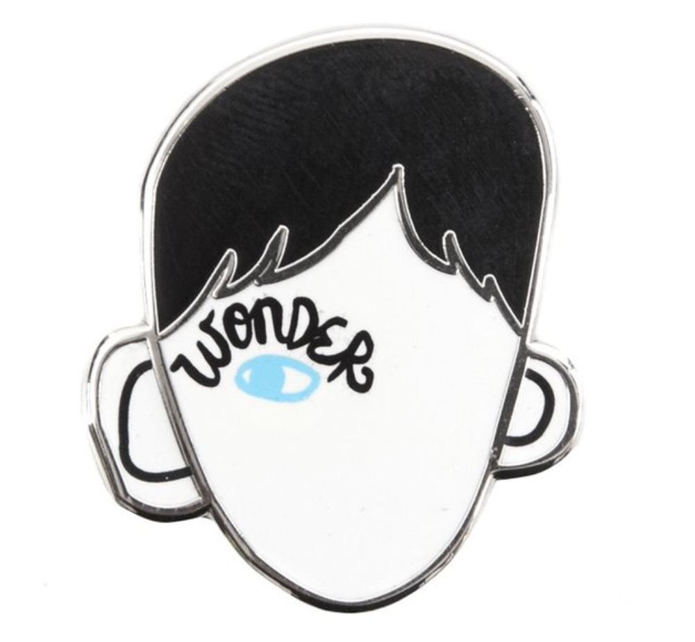 【Out of Print】 R. J. Palacio / Wonder Enamel Pin