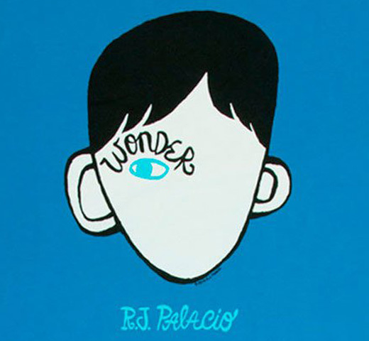 [Out of Print] R. J. Palacio / Wonder Tee (Turquoise)