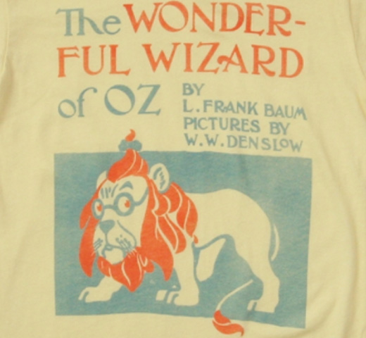 【Out of Print】 L. Frank Baum / The Wonderful Wizard of Oz Tee (Yellow) (Kids')