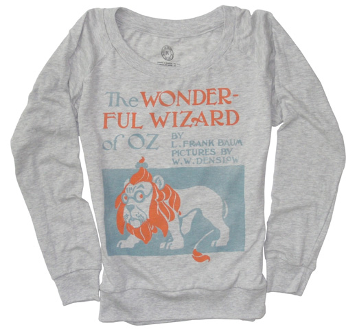 【Out of Print】 L. Frank Baum / The Wonderful Wizard of Oz Long Sleeved Tee (Oatmeal)