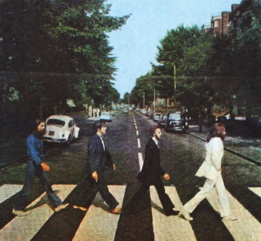 【Worn By】 The Beatles / Abbey Road Tee (White)