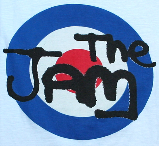 【Worn By】 The Jam / Logo Tee (White Slub)