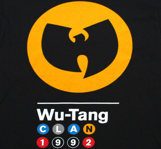 Wu-Tang Clan / 1992 Subway Sign Tee (Black)