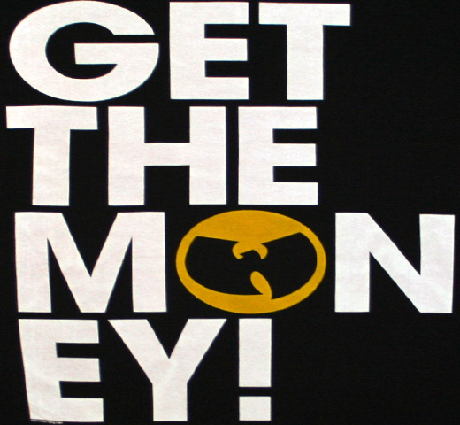 Wu-Tang Clan / C.R.E.A.M. get the money Tee (Black)