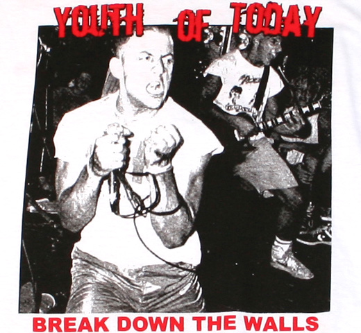 Youth Of Today / Break Down The Walls Tee