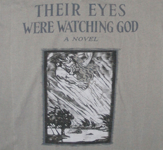 【Out of Print】 Zora Neale Hurston / Their Eyes Were Watching God V-Neck Tee (Warm Grey) (Womens)